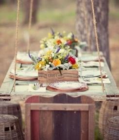 zomer tafelen